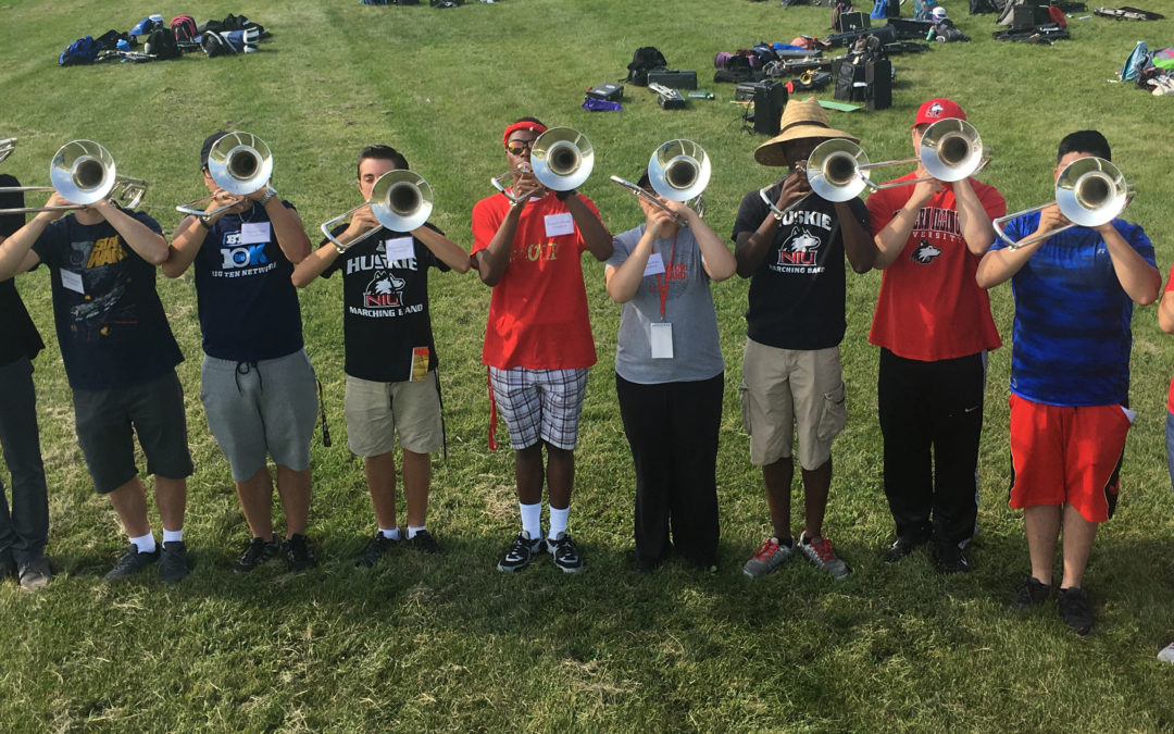 Building the NIU Huskie Marching Band