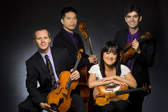 Avalon String Quartet to perform series of concerts at Roosevelt University's Ganz Hall