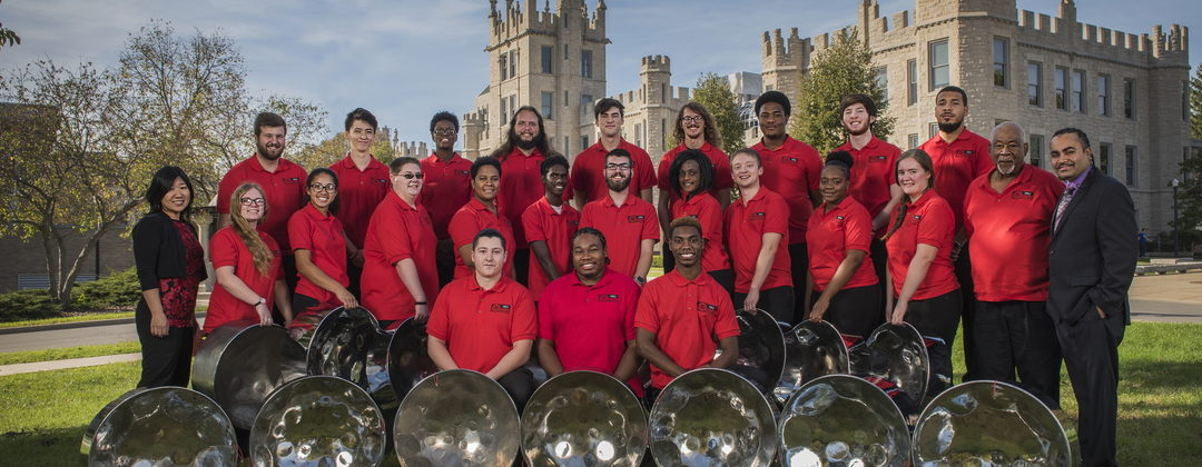 NIU Steelband spring concert features steelpan virtuoso Victor Provost