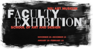 NIU Faculty Art Exibition