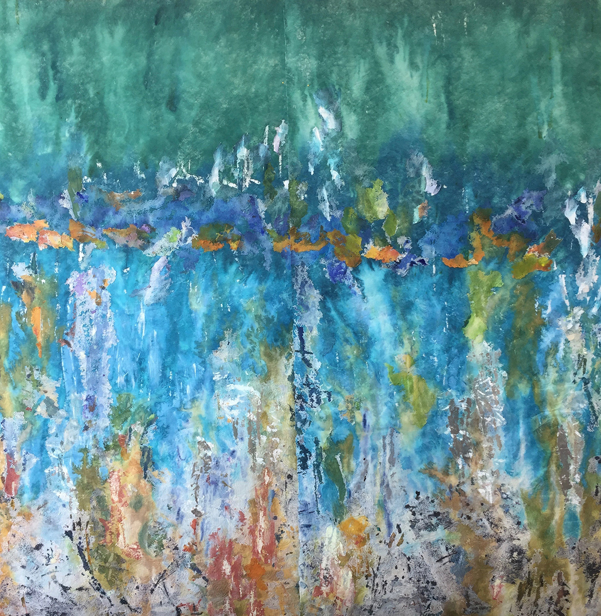 "Hull #1 80 x 80"" - Barbara Lee Smith"