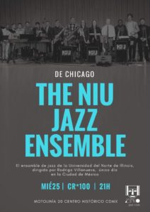 Jazz Ensemble in Mexico Poster 4