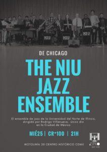 Jazz Ensemble in Mexico Poster 4