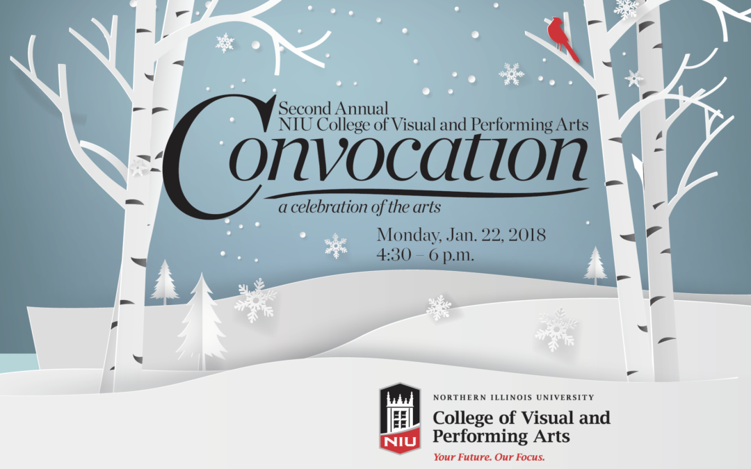 NIU College of Visual and Performing Arts Convocation, January 22