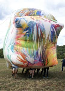 Claire Ashley inflatable sculpture