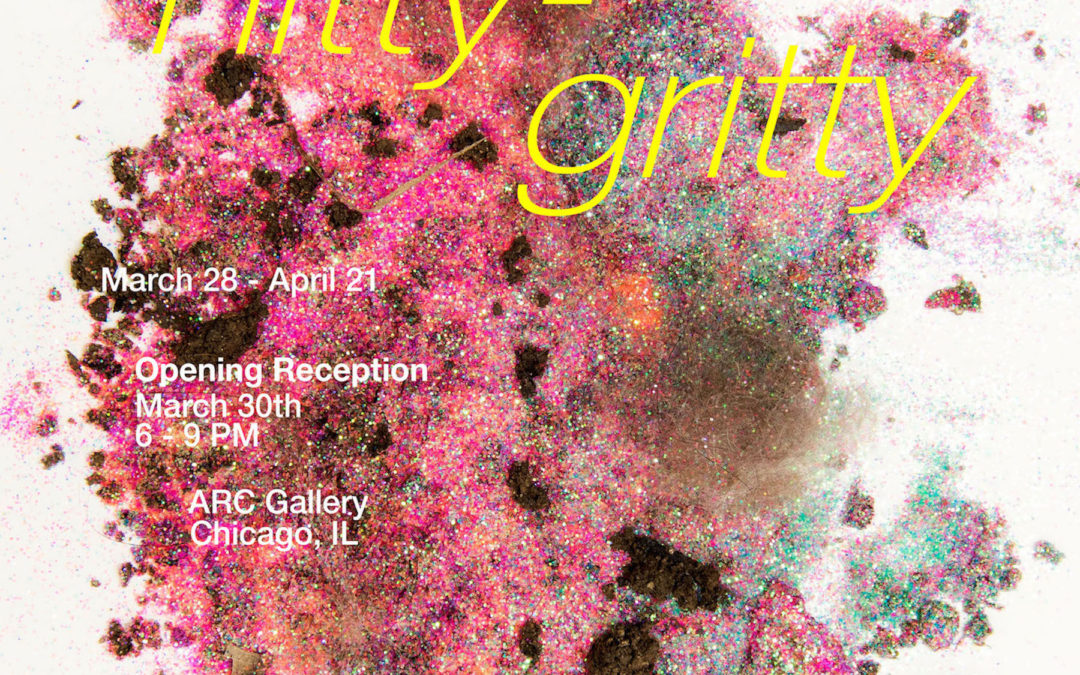 "Check out the NIU MFA Thesis Exhibition ""Nitty Gritty"""