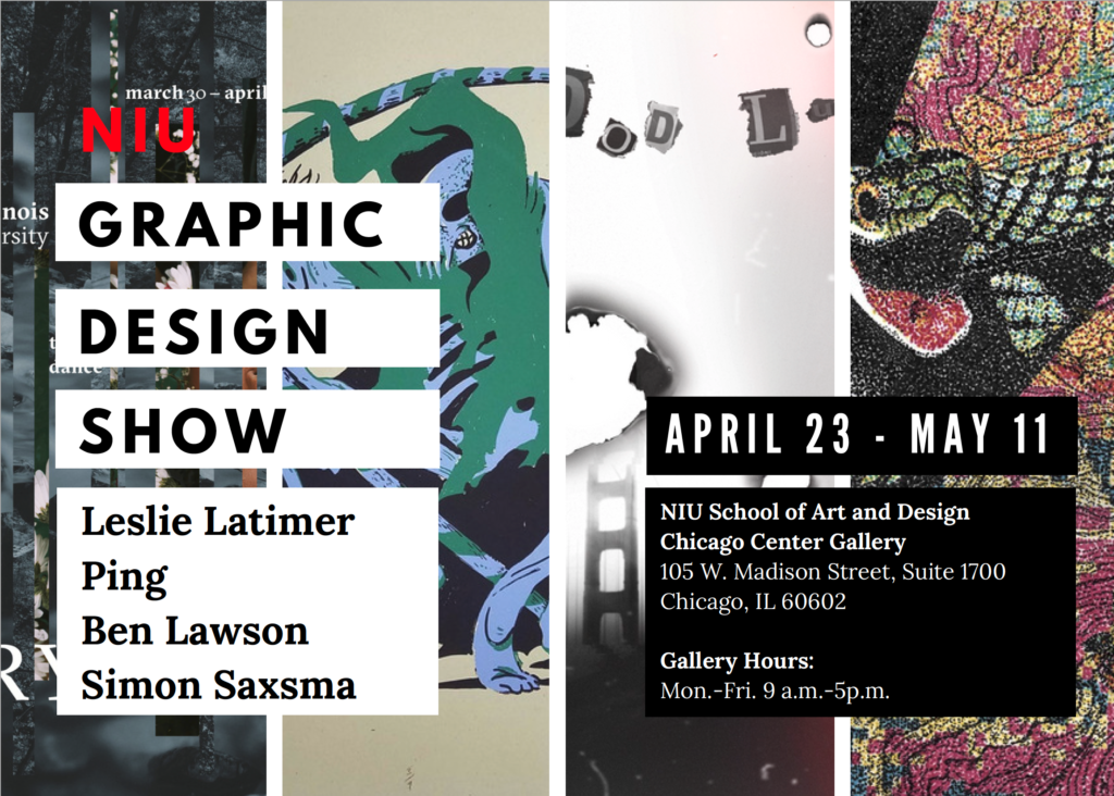 NIU Graphic Design Show