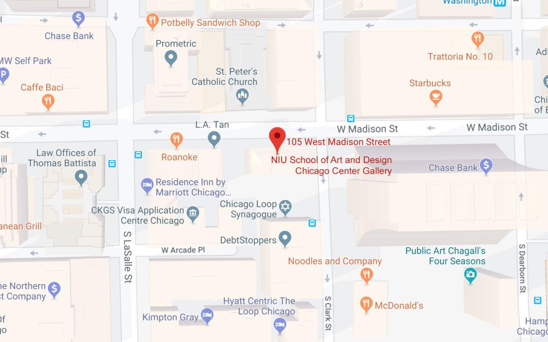 Check out the NIU Graphic Design Show at NIU Chicago Center