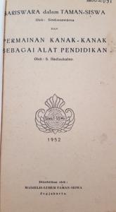 Taman Siswa book