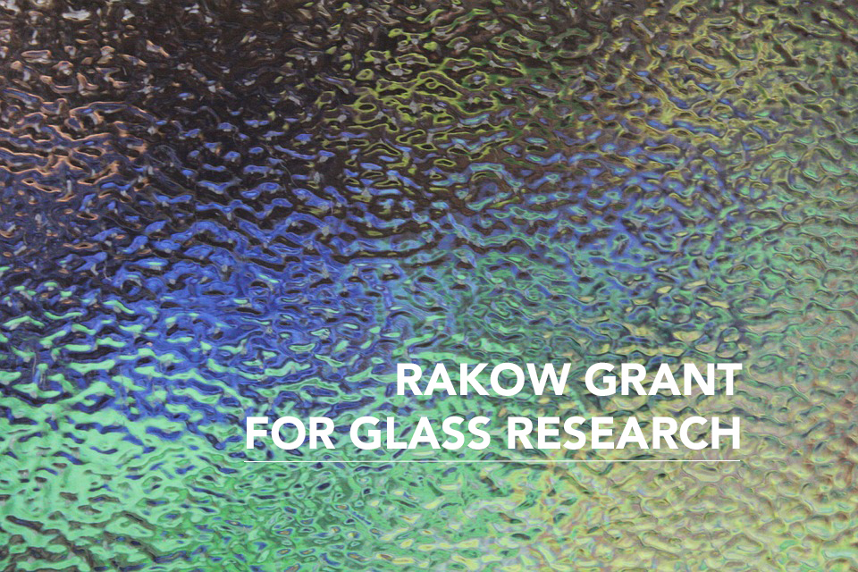 Art and Design's Catherine Raymond awarded Rakow Grant for Glass Research