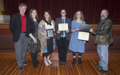 School of Art and Design students honored at Graduate Student Awards