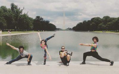 NIU dancers have arrived in Washington DC