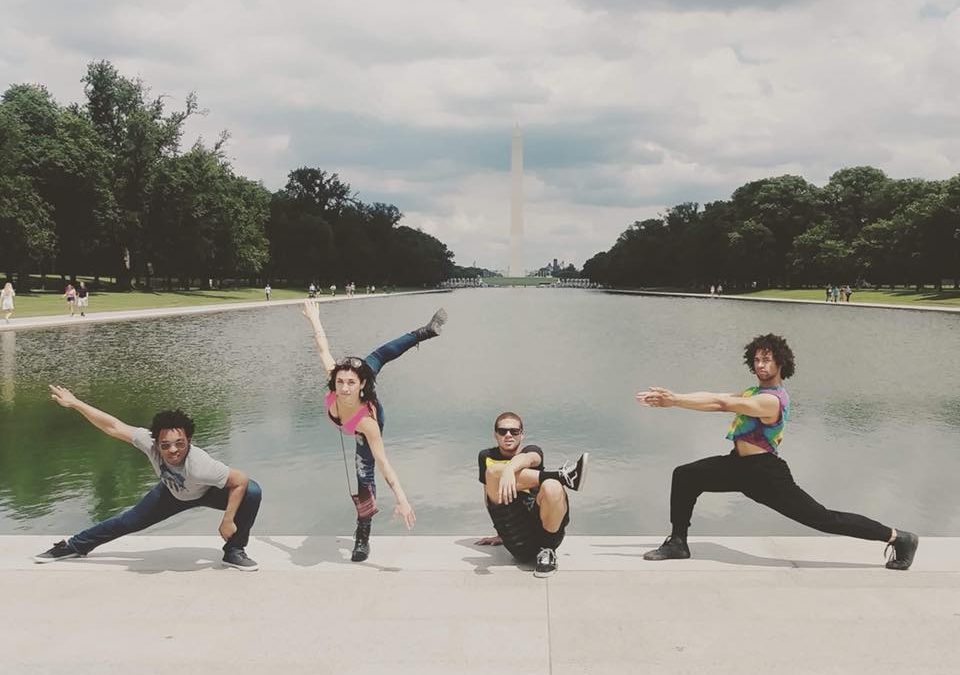 NIU dancers have arrived in Washington DC