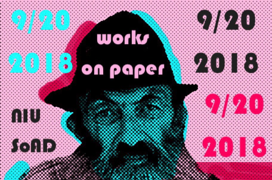 Backspace Gallery presents: All Sheets to the Wind – Works on Paper featuring alumni, faculty, retirees and visiting artists