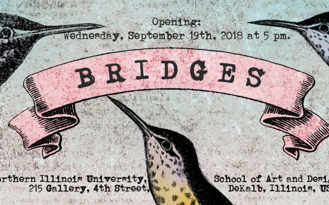 """NIU School of Art and Design hosts """"Bridges"""" an exhibition of digital graphics and augmented reality"""