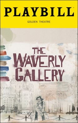 Playbill cover for The Waverly Gallery