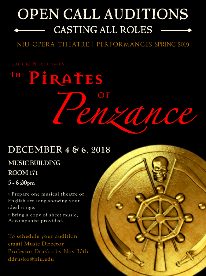 Opera Theatre open auditions December 4 and 6 | NIU Arts Blog