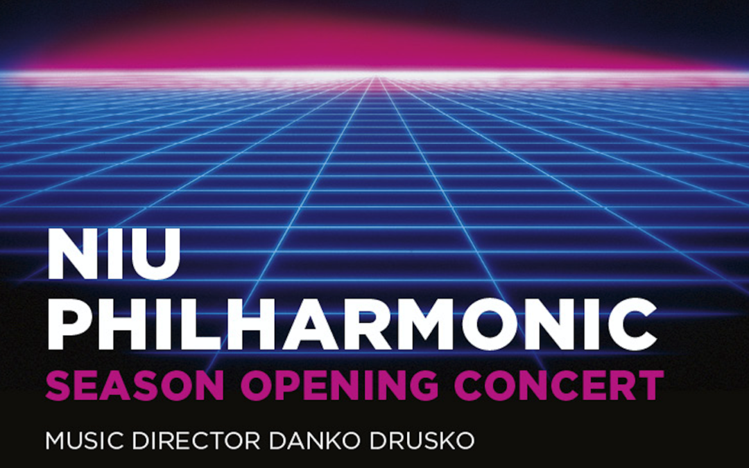 NIU Philharmonic Season Opening Concert October 10