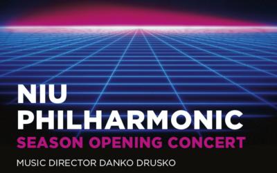 NIU Philharmonic Season Opening Concert October 10