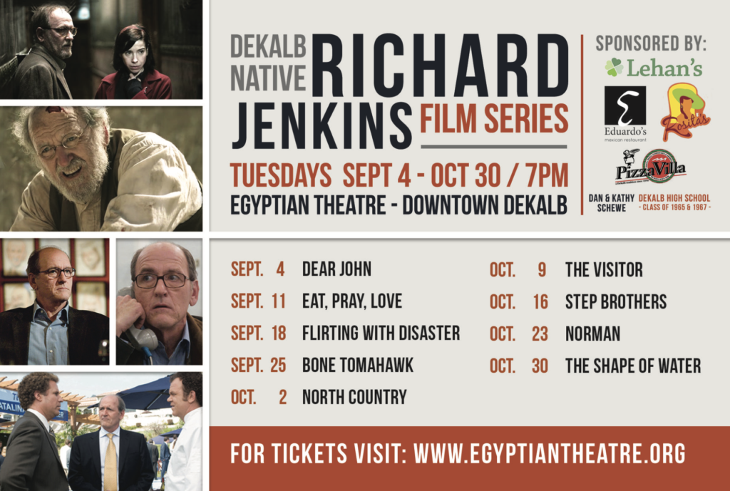 Richard Jenkins Film Series