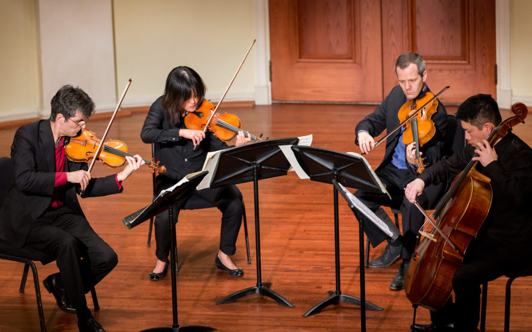 New album featuring the Avalon String Quartet released December 7
