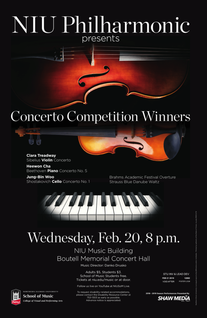 Philharmonic Concerto Competition Winners
