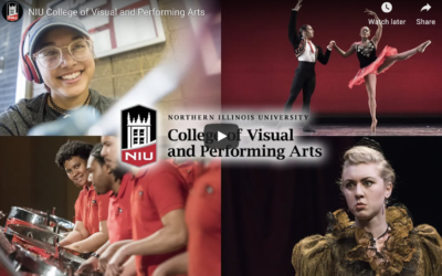 Video: NIU College of Visual and Performing Arts – Where Creativity Thrives