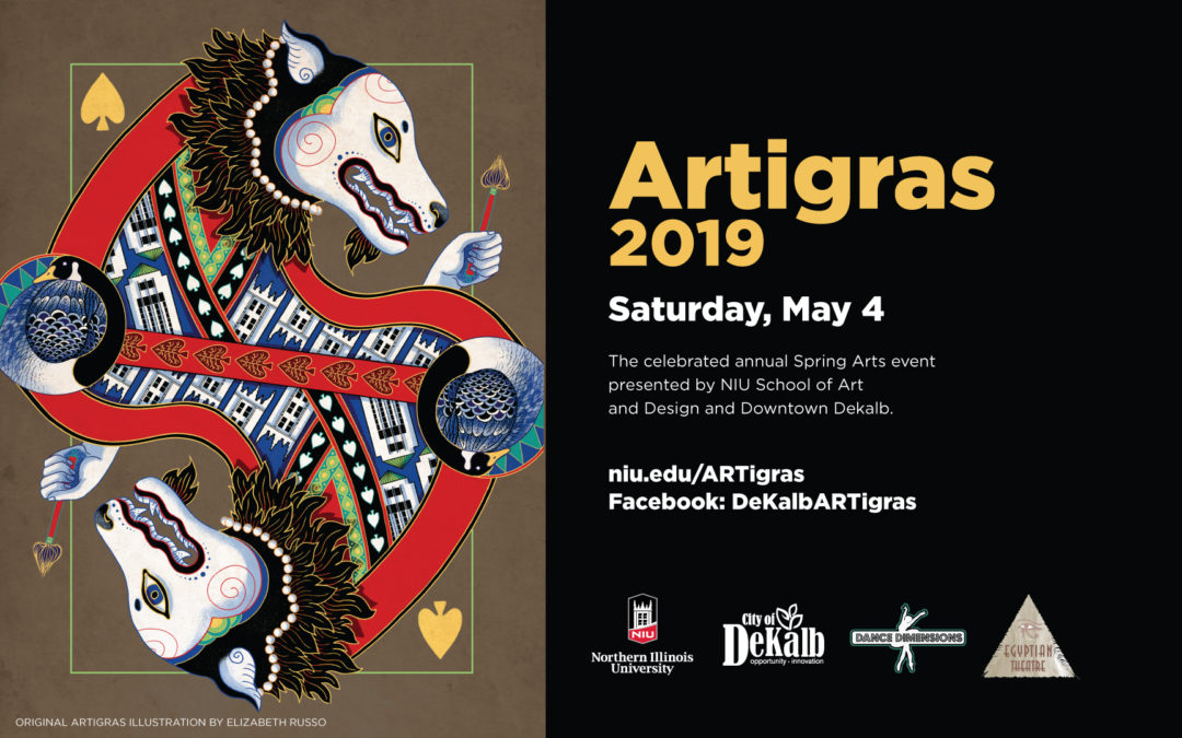 NIU and DeKalb's annual art celebration ARTigras returns May 4