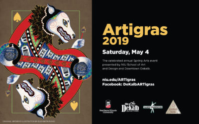 NIU and DeKalb's annual art celebration ARTigras returns May 4