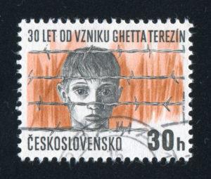 Terezin stamp