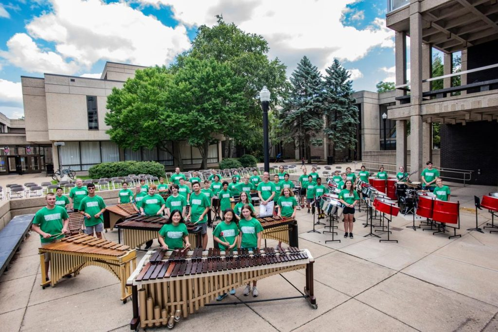 Percussion camp 2018