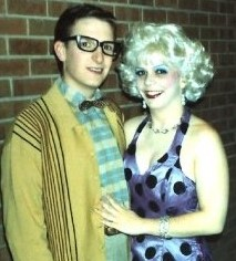 Jen Ray in NIU production of Little Shop of Horrors
