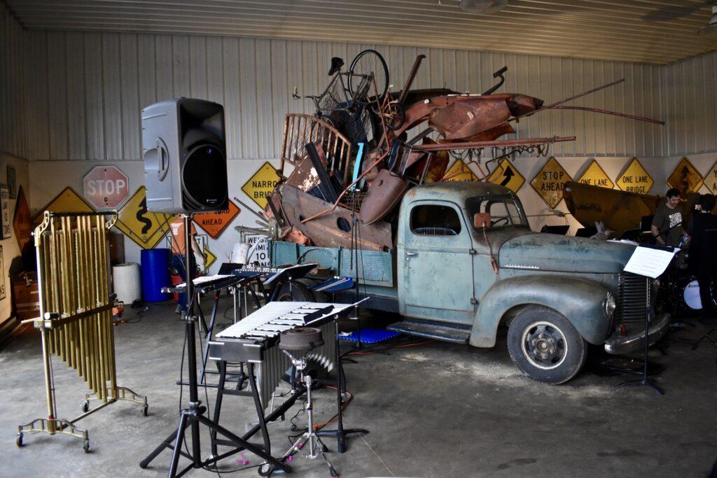 Himmelfarb truck sculpture