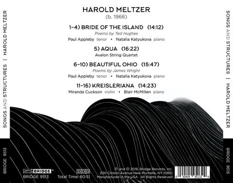 Harold Metzer - Songs and Structures (back)