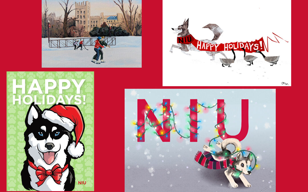 Students invited to participate in annual contest to design the official NIU holiday card