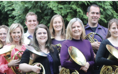 School of Music's Kelly Langenberg featured on WGN-TV with Chicago Horn Consort