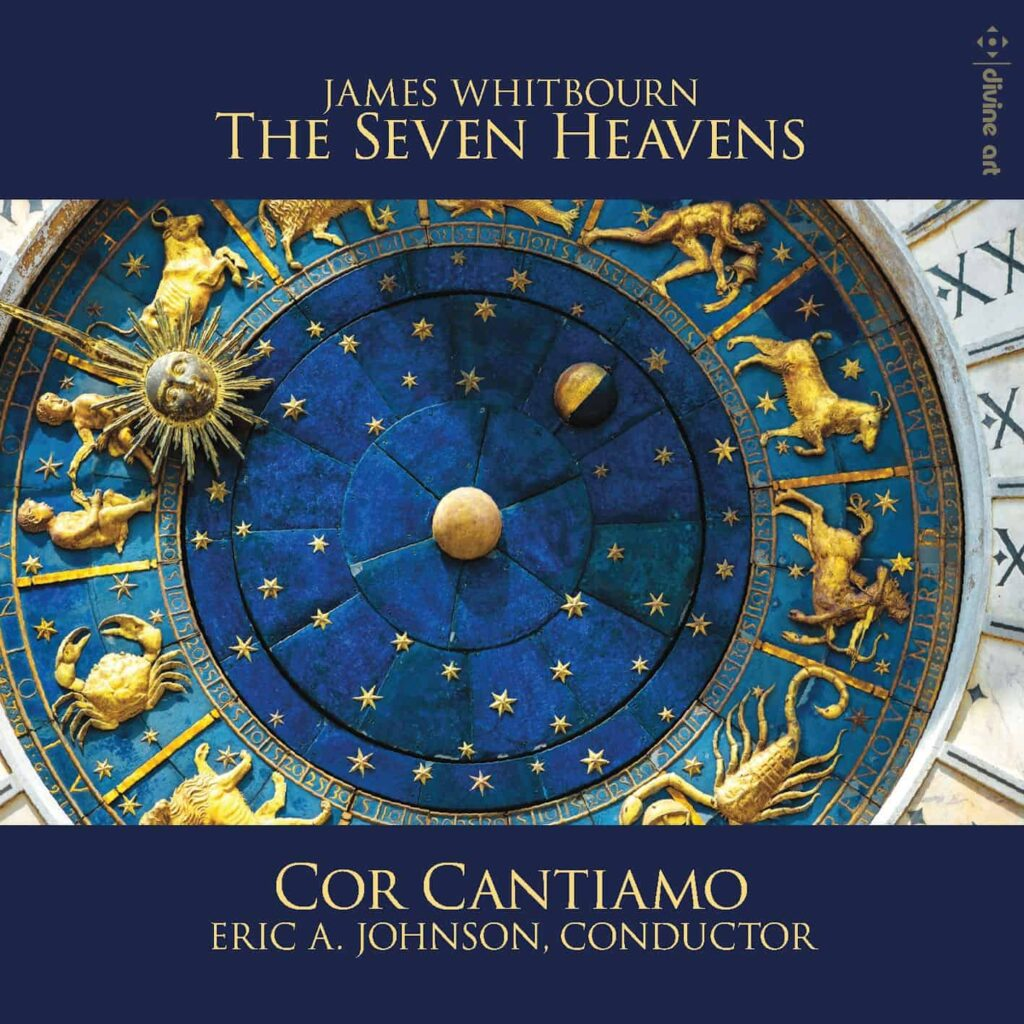 Cor Cantiamo Seven Heavens CD cover