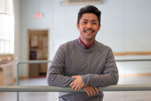 Huskie Spotlight – Mark Macaranas, School of Theatre and Dance