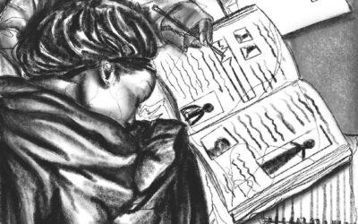 NIU Artists. Never. Quit. Beginning Illustration Class (Part Three)