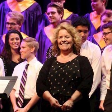 Music alumna Amy Jensen selected as RSO outstanding music educator