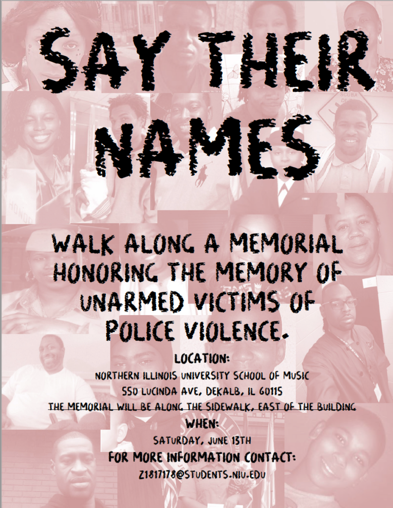 Say Their Names poster