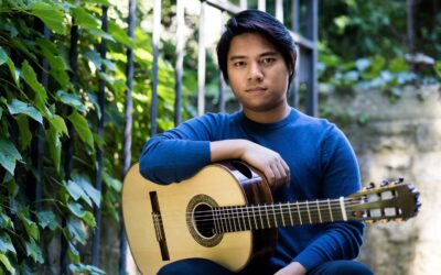 Guitarist An Tran joins School of Music faculty