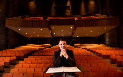 Music's Benjamin Firer named Music Director of the Metropolitan Youth Symphony