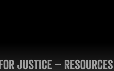 Antioch College – Stand for Justice resources