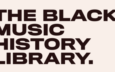 The Black Music History Library
