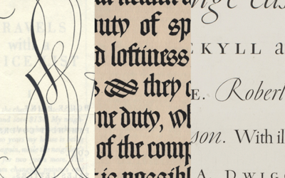 Visiting Artist Lecture: The Lettering and Calligraphy of WA Dwiggins, Nov. 4