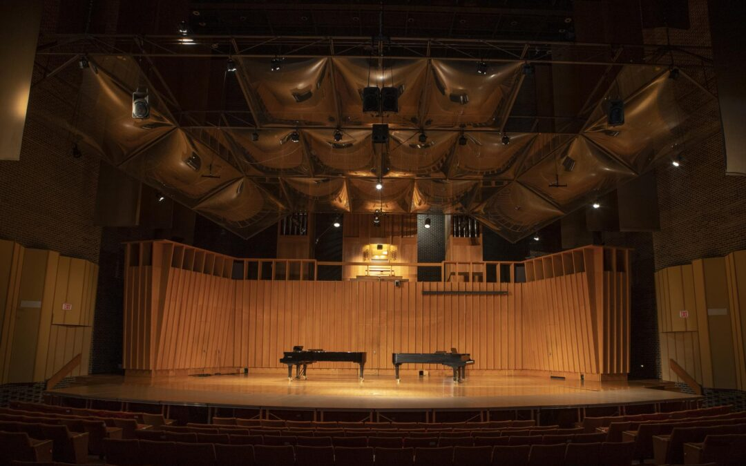 Boutell Memorial Concert Hall Stage