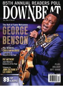 DownBeat cover Dec. 2020