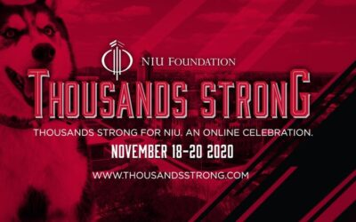 """NIU's """"Thousands Strong"""" Virtual Events Celebrate Huskie Pride"""