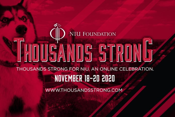 "NIU's ""Thousands Strong"" Virtual Events Celebrate Huskie Pride"